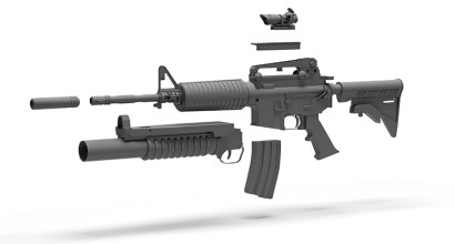 Firearms and Tactical Equipment Components